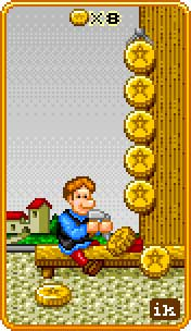 Eight of Coins