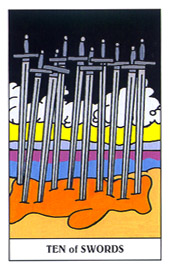 Ten of Swords