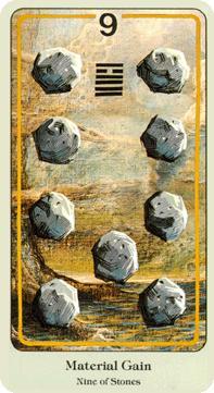 Nine of Coins