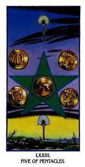 Five of Pentacles