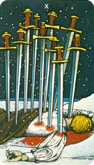 Ten of Swords