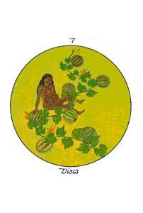 Seven of Discs