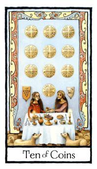 Ten of Coins