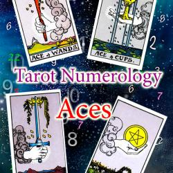 Numerology and tarot: Aces