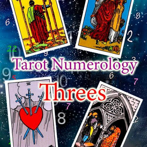 Numerology and tarot: Threes