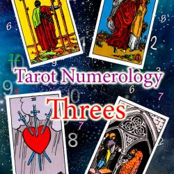 Numerology and tarot: Threes